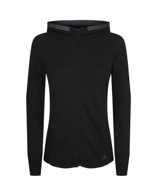 Adidas - Black Ultra Runningjacket - Lyst