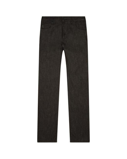 Armani | Black J45 Slim Fit Jeans for Men | Lyst