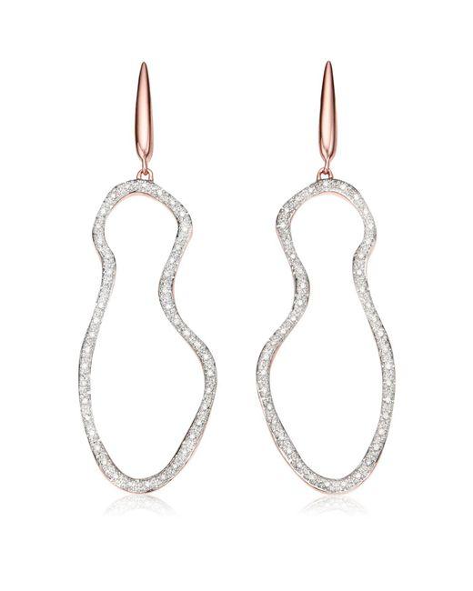 Monica Vinader | Metallic Riva Pod Cocktail Earrings | Lyst