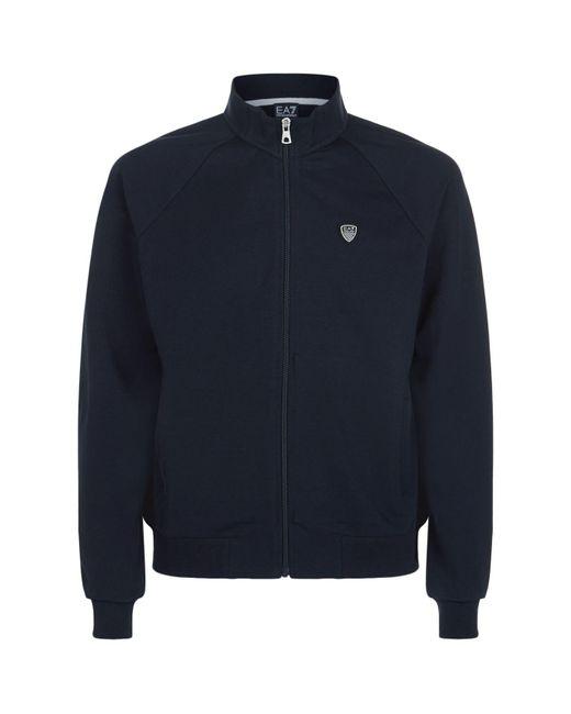 Armani | Blue Soccer Shield Track Jacket for Men | Lyst