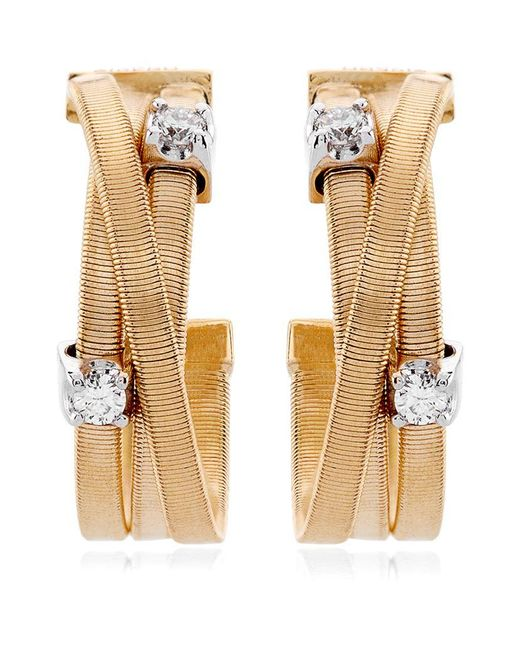 Marco Bicego | Metallic Goa Strand Diamond Earrings | Lyst