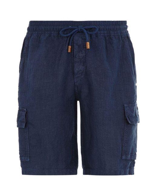 Vilebrequin | Blue Baie Linen Bermuda Shorts for Men | Lyst
