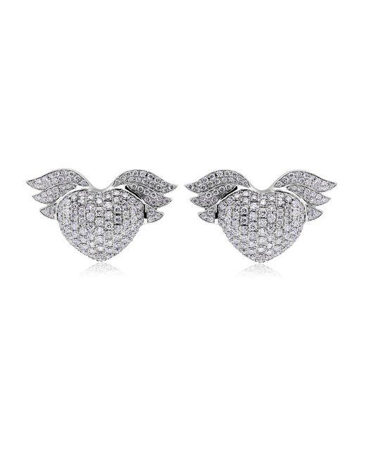 Theo Fennell | Metallic Winged Baby Earrings | Lyst