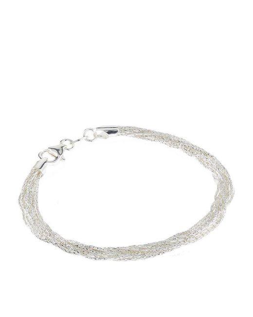 Links of London | Metallic Essentials Silk 10 Row Bracelet | Lyst