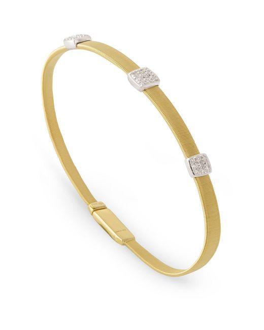 Marco Bicego - White Masai Triple Diamond Bracelet - Lyst