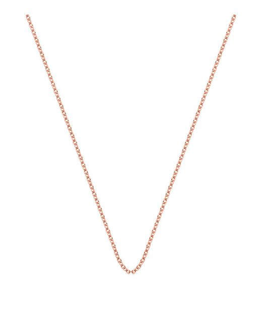 Monica Vinader - Pink Adjustable Rolo Chain (24) - Lyst