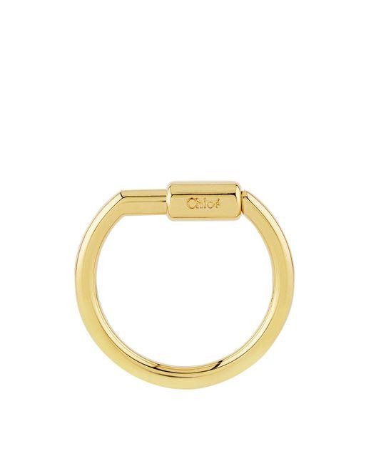 Chloé - Metallic Alphabet Charm Hook For Faye Bag - Lyst