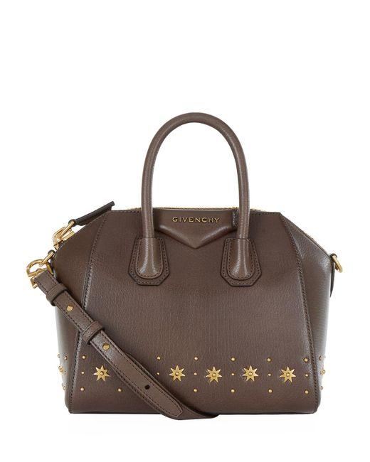 Givenchy Small Star Antigona Tote Bag in Gray - Lyst 1b068f96a8e83