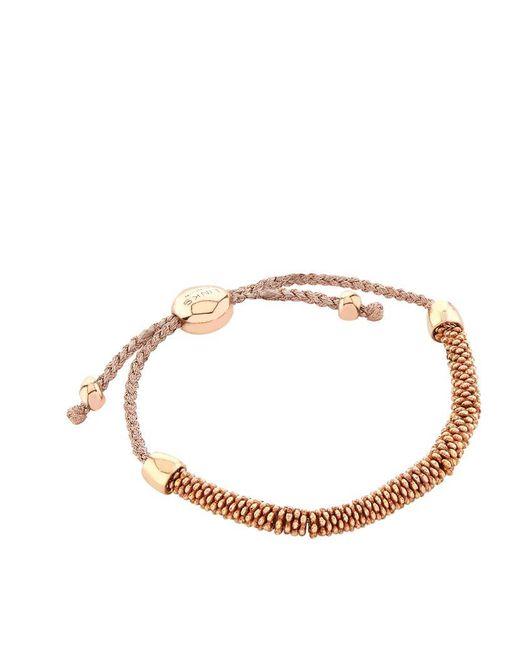 Links of London | Brown Effervescence Xs Cord Bracelet | Lyst