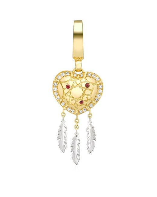 Theo Fennell | Red Dreamcatcher 'art Charm | Lyst