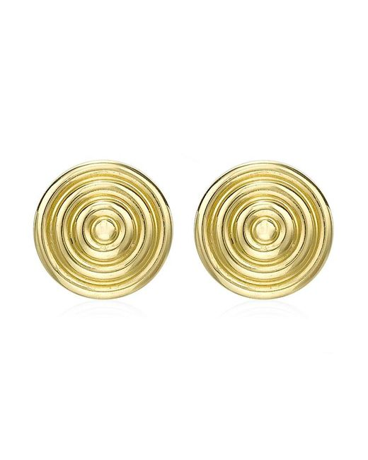 Theo Fennell | Metallic Gold Whip Stud Earrings | Lyst