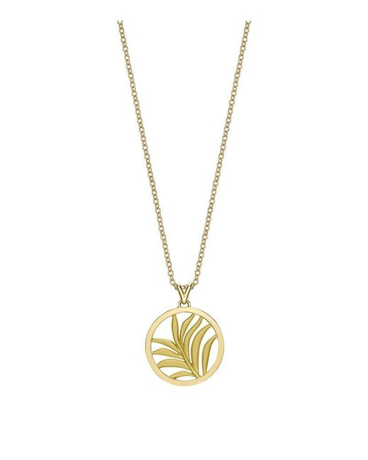 Theo Fennell   Metallic Small Palm Diamond Pendant   Lyst