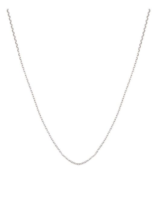 Carat* | Metallic White Gold Chain Necklace | Lyst