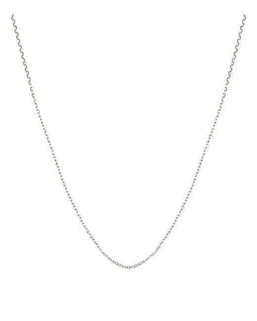 Carat* | Metallic White Gold Chain Necklace | Lyst