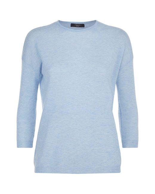 Weekend by Maxmara | Blue Cashmere Sweater | Lyst
