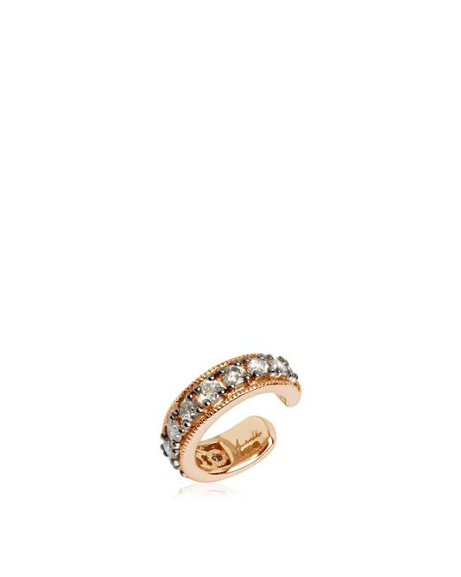 Annoushka - Metallic Dusty Diamonds Rose Gold Hinged Ear Cuff - Lyst