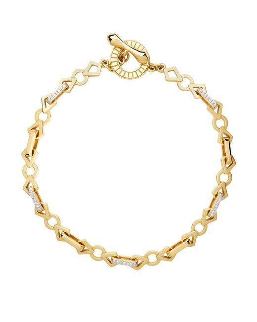 Links of London | Metallic Timeless Gold Bracelet | Lyst