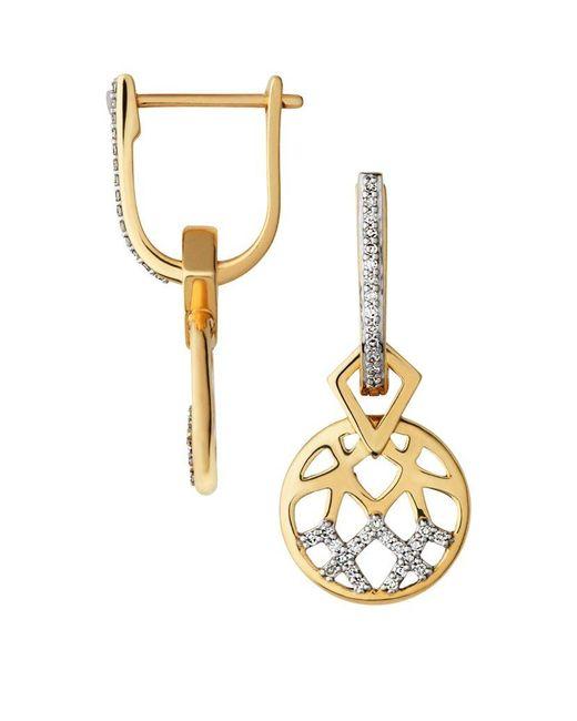 Links of London | Metallic Timeless Gold Earrings | Lyst