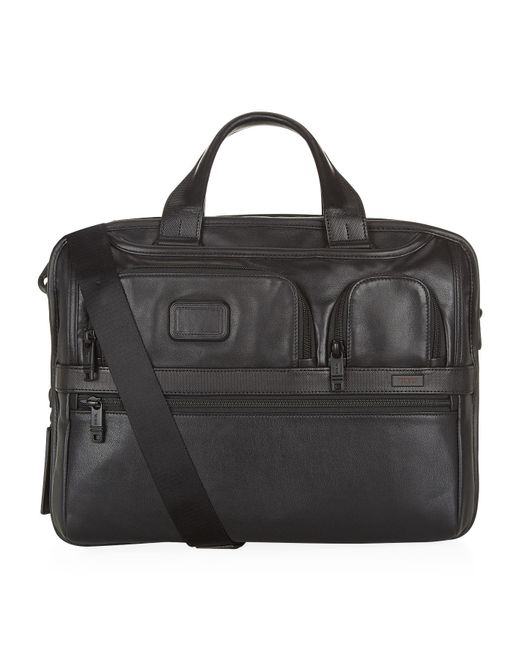 Tumi - Black Alpha 2 Expandable Organizer Briefcase for Men - Lyst