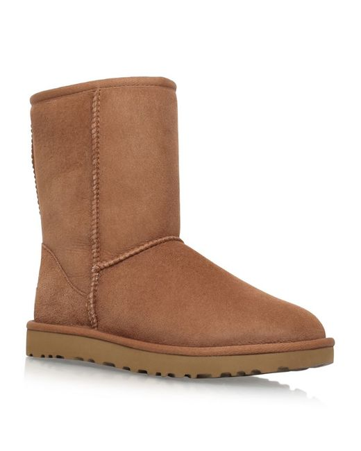 ugg chestnut classic ii boots in brown save 7 lyst
