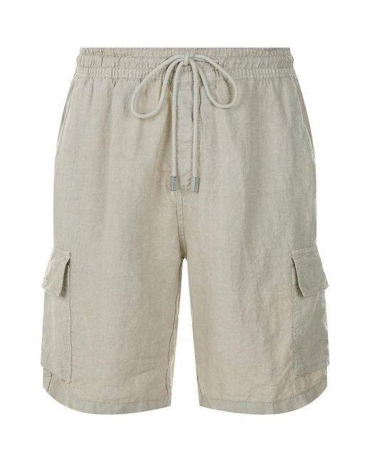 Vilebrequin   Natural Baie Linen Shorts for Men   Lyst