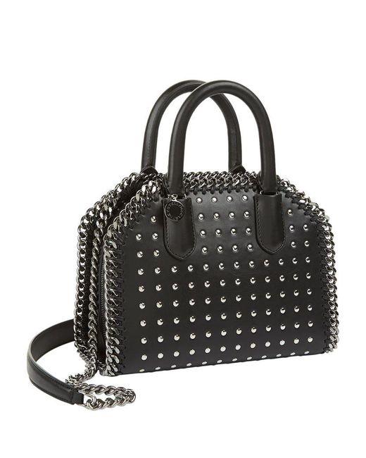 Image result for Stella McCartney Falabella Mini Box Studded Grab Bag