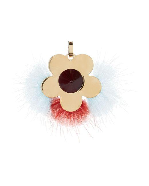 Fendi | Multicolor Floral Fur Charm | Lyst