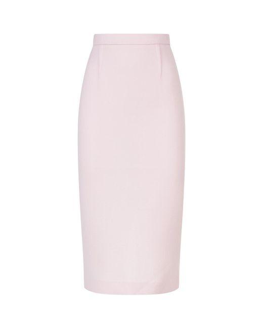 Roland Mouret - Pink Arreton Pencil Skirt - Lyst