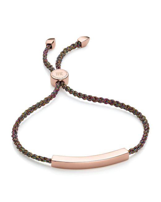 Monica Vinader | Multicolor Rainbow Metallica Linear Friendship Bracelet | Lyst