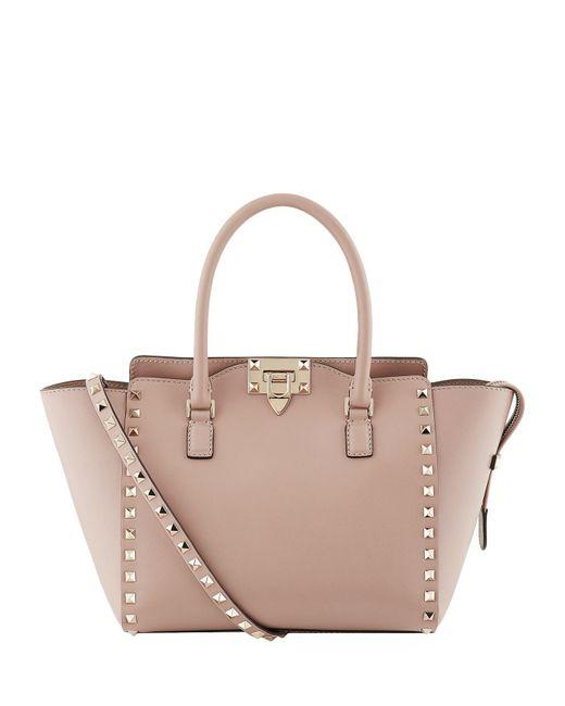 Valentino - Multicolor Rockstud Top Handle Bag - Lyst