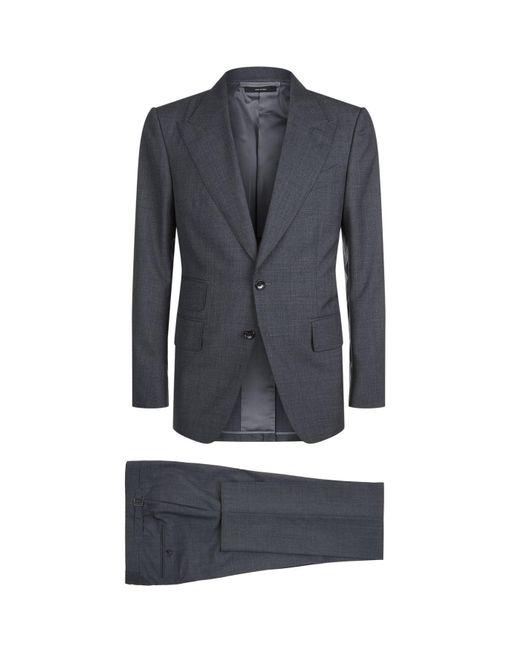 Tom Ford - Gray Shelton Wool Suit for Men - Lyst