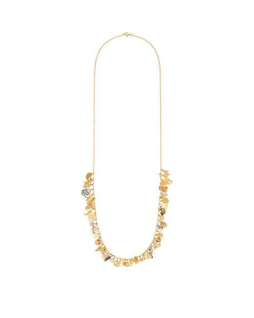 Carolina Bucci - White Lucky Charm Necklace - Lyst