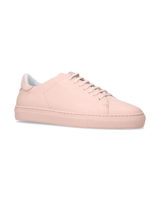 Axel Arigato - Pink Clean 90 Sneakers for Men - Lyst