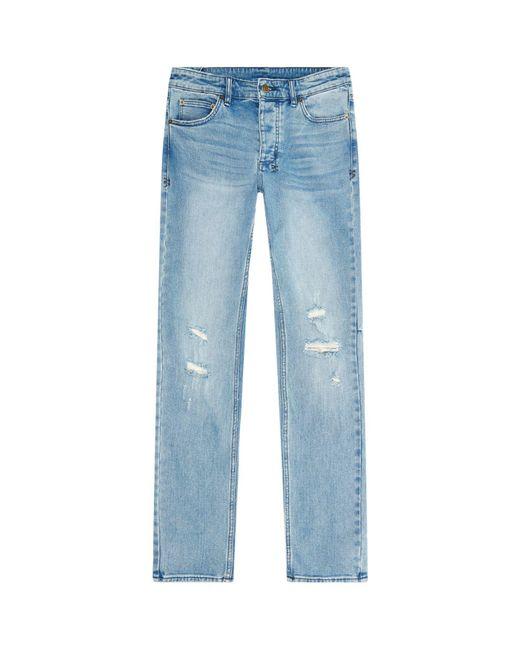 Ksubi | Blue Chitch Slim Distressed Jeans for Men | Lyst