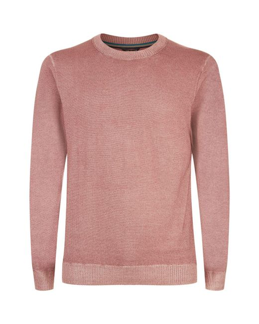 Ted Baker   Pink Abelone Wool Sweater for Men   Lyst