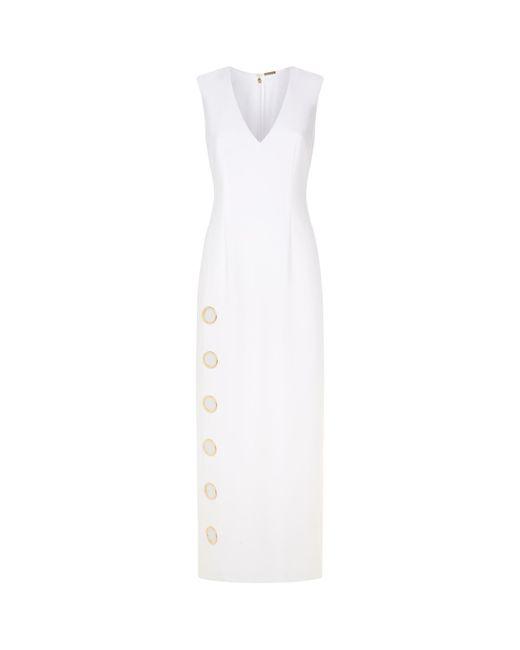 Elie Tahari   White Ann Dress   Lyst