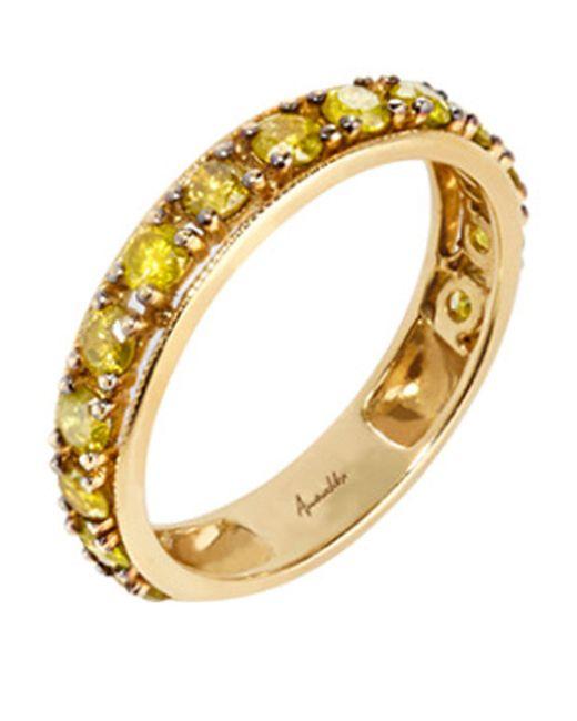 Annoushka - Metallic Dusty Diamonds Eternity Ring - Lyst