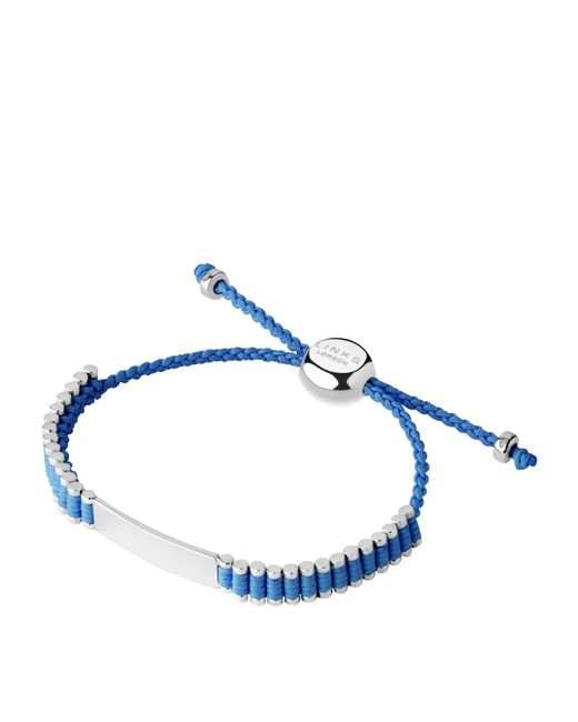 Links of London - Blue Id Friendship Bracelet - Lyst