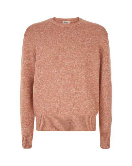 Acne | Natural Nerah Cableknit for Men | Lyst