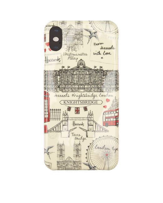 Harrods Natural London Sketch Iphone Xs Max Case