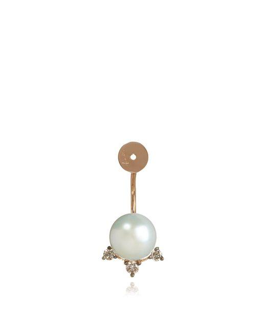Annoushka | Metallic Diamond And Pearl Stud Earring Back | Lyst