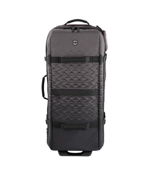 Victorinox - Black Vx Touring Expandable Extra-large Wheeled Duffel Bag for Men - Lyst