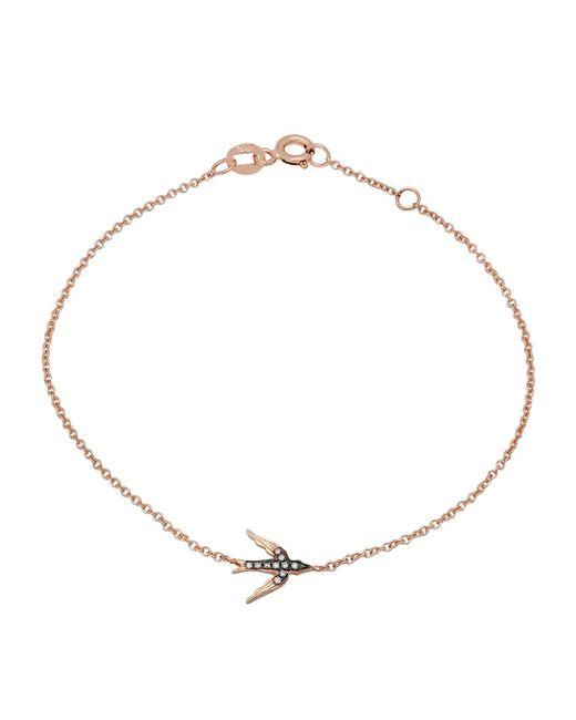 Kenza Lee | Metallic Swallow Bracelet | Lyst