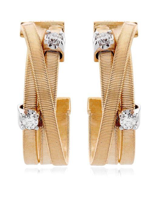 Marco Bicego | Yellow Goa Strand Diamond Earrings | Lyst