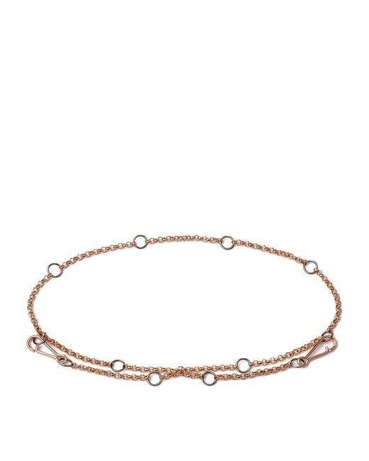 Annoushka - Pink Hoopla Chain Bracelet - Lyst