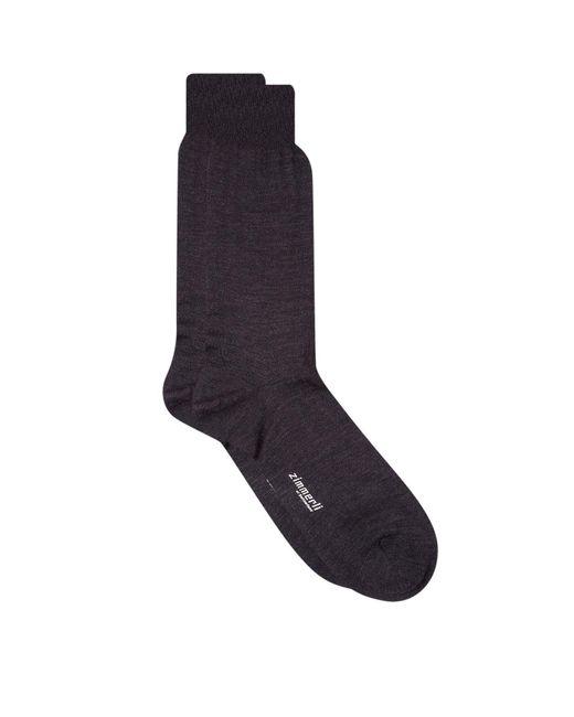 Zimmerli   Gray Merino Wool Socks for Men   Lyst