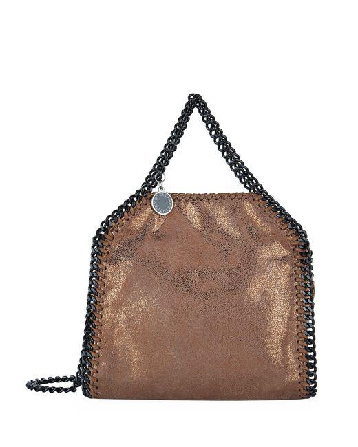 Stella McCartney - Brown Tiny Falabella Tote Bag - Lyst