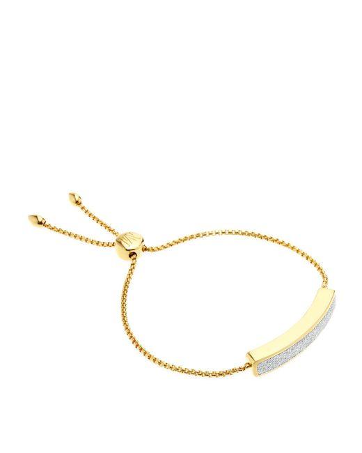 Monica Vinader | Metallic Baja Chain Diamond Bracelet | Lyst