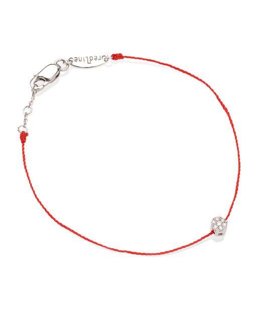 RedLine | Red Diamond Illusion Bracelet | Lyst