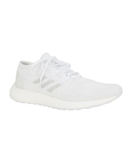 270cf4be4f8d9 Lyst - adidas Pureboost Go Trainers in White for Men